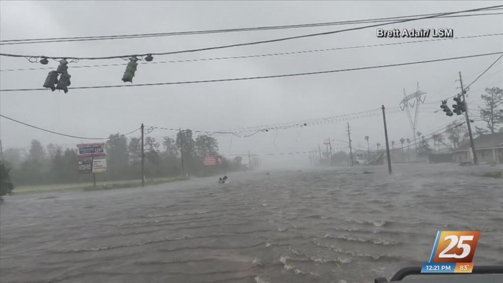Hurricane Ida Impacts In Laplace, Louisiana