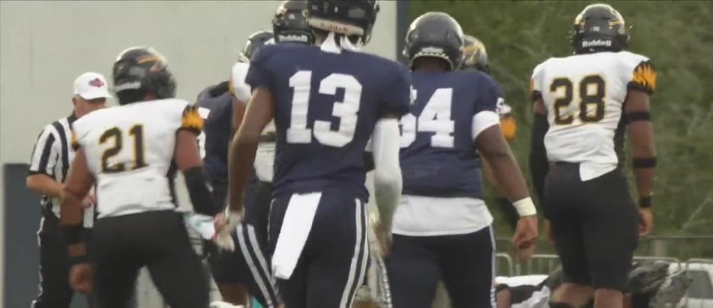 High School Football: Moss Point Vs. D'iberville
