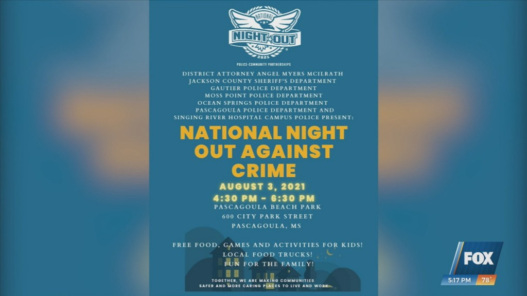 National Night Out Against Crime At The Jackson County Fairgrounds
