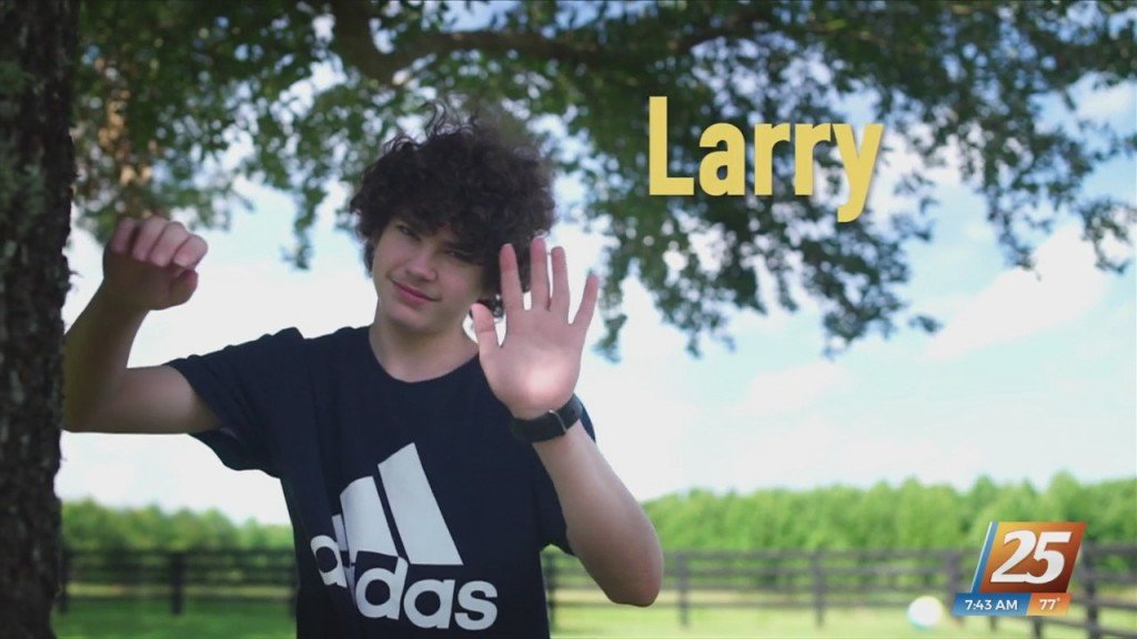 Grant Me Hope: Larry Hopes To Be Adopted
