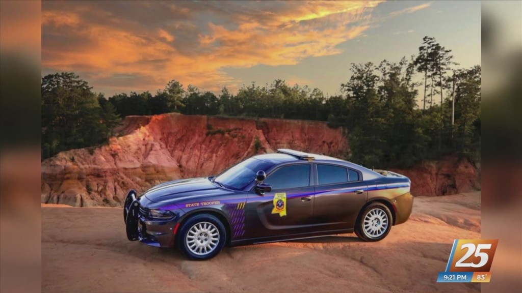 Mississippi Highway Patrol Cruiser To Be Featured In 2022 Calendar