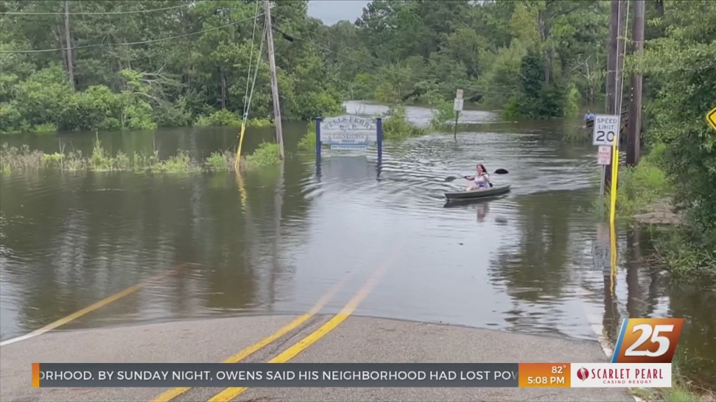 Serious Flooding In Many Areas Of Harrison County