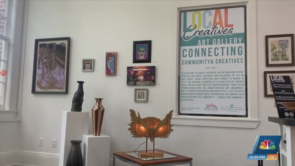 Mary C. Debuts Two New Gallery Exhibits