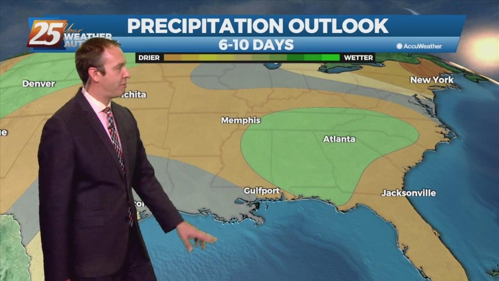 "08/11 Ryan's ""consistent"" Wednesday Evening Forecast"