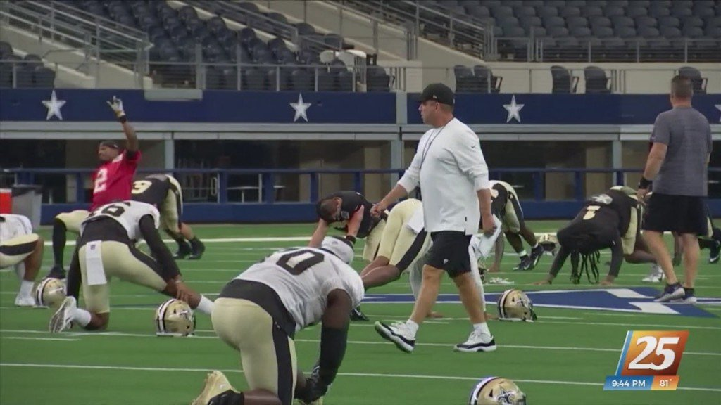 Saints Looking For Stadium For Week One