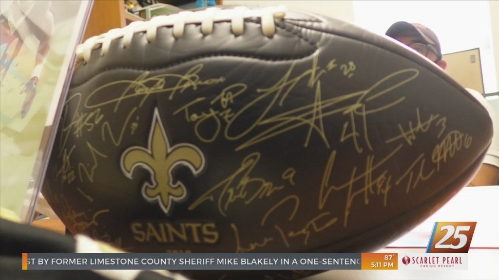 Back Bay Mission Partners With The Saints For Raffle
