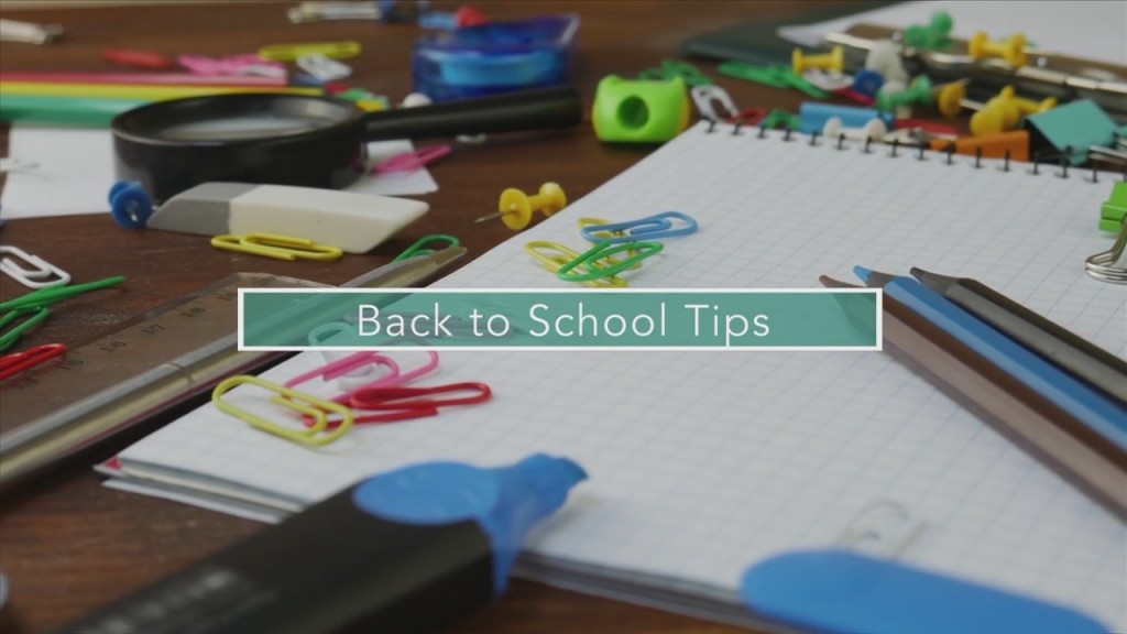 Mom To Mom: Back To School Tips
