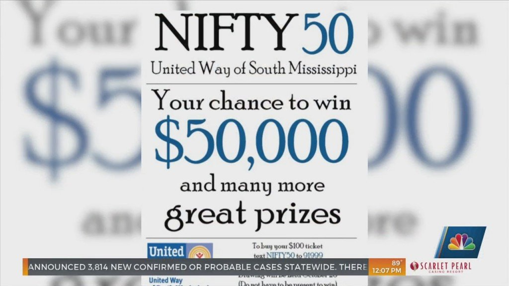 Tickets Available Now For 'nifty 50' Raffle Benefiting United Way Of South Mississippi