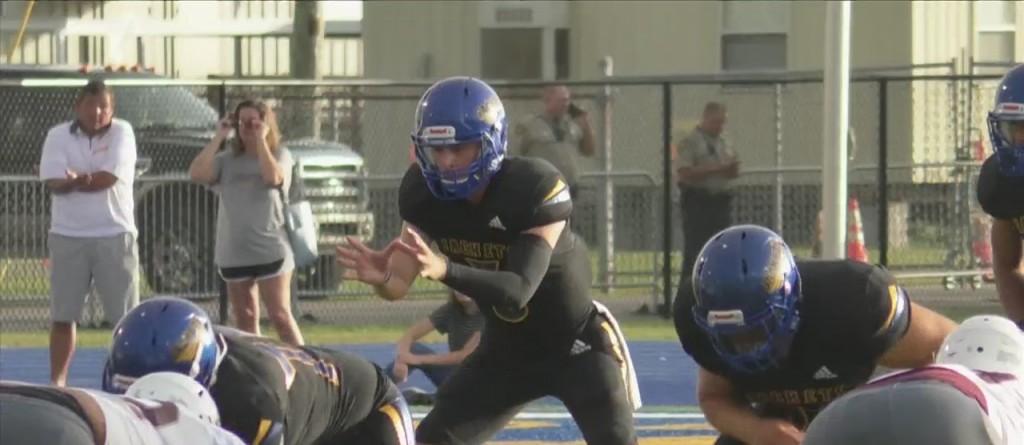 High School Football: St. Martin Vs. Long Beach