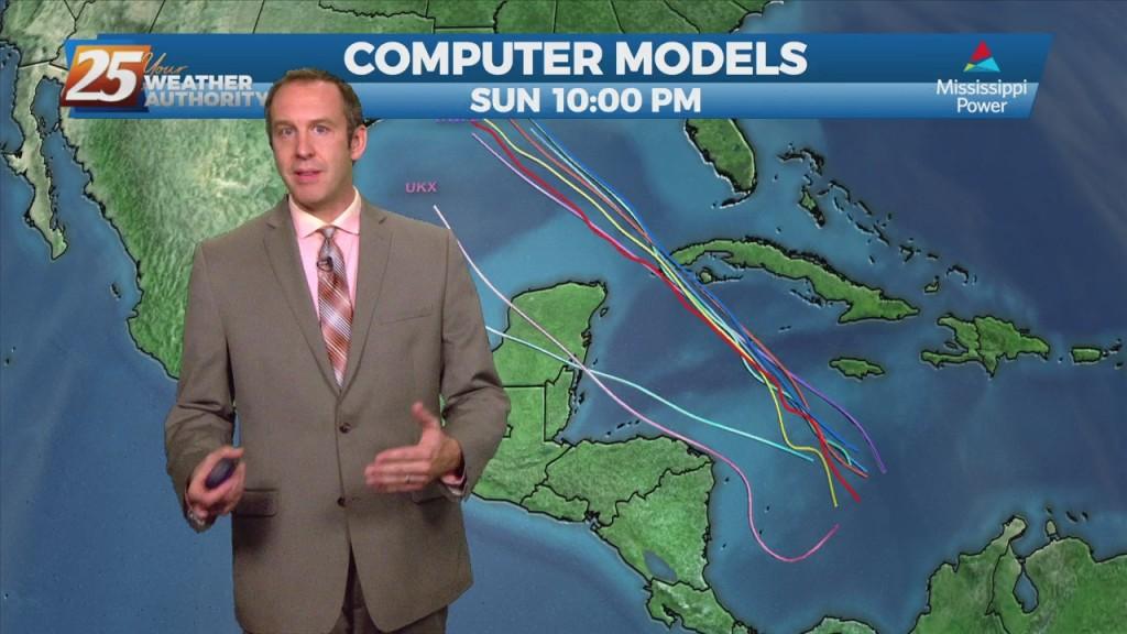 "08/25 Ryan's ""tropical Activity"" Wednesday Night Forecast"