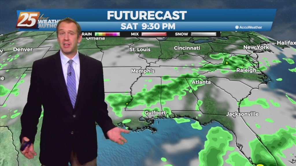 "08/12 Ryan's ""wet Today, Drier Tomorrow"" Thursday Night Forecast"