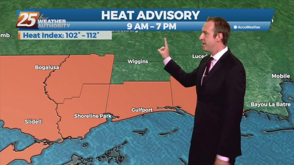"""08/19 Ryan's """"heat Advisory"""" Thursday Evening Forecast"""