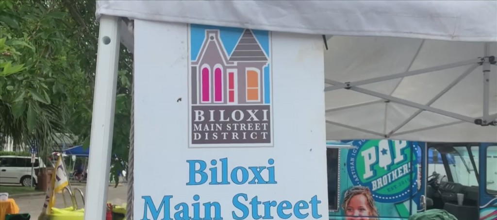 First Friday Block Party In Downtown Biloxi