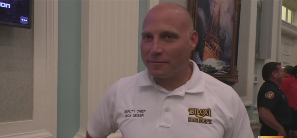 Nicholaus Geiser Appointed As Biloxi Fire Chief