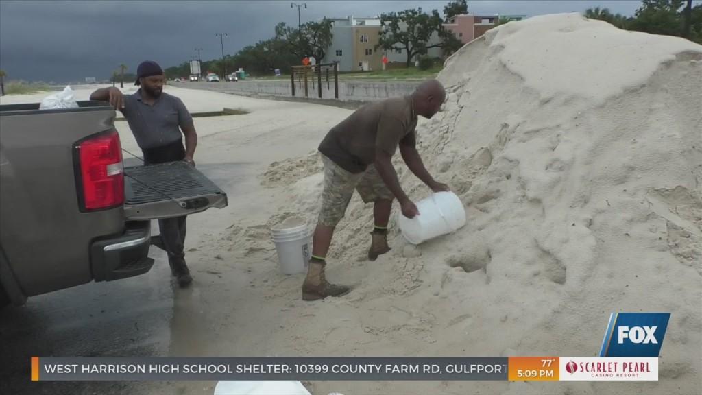 Coast Residents Preparing For Ida