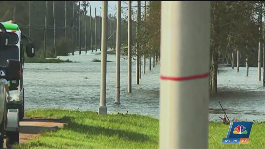 Flooding In Lafitte, Louisiana