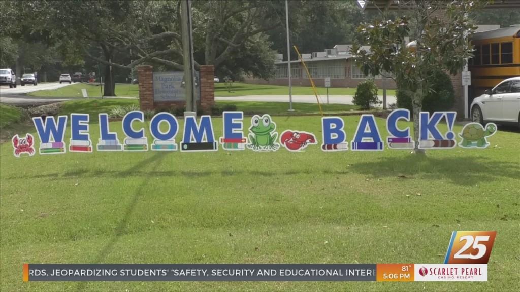School Starts Tomorrow For Ocean Springs School District
