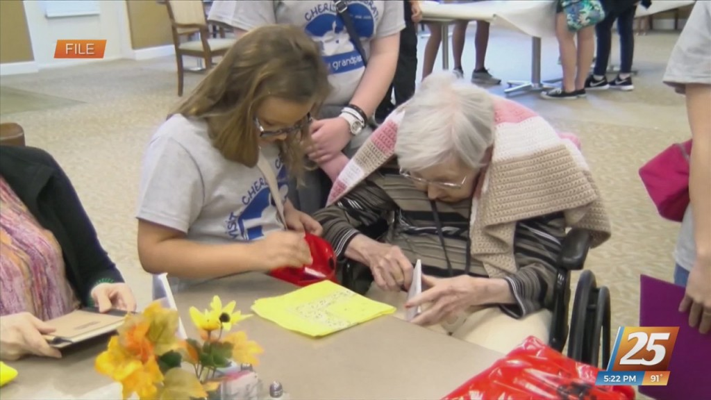 Adopt A Grandparent Day Celebration In Gulfport