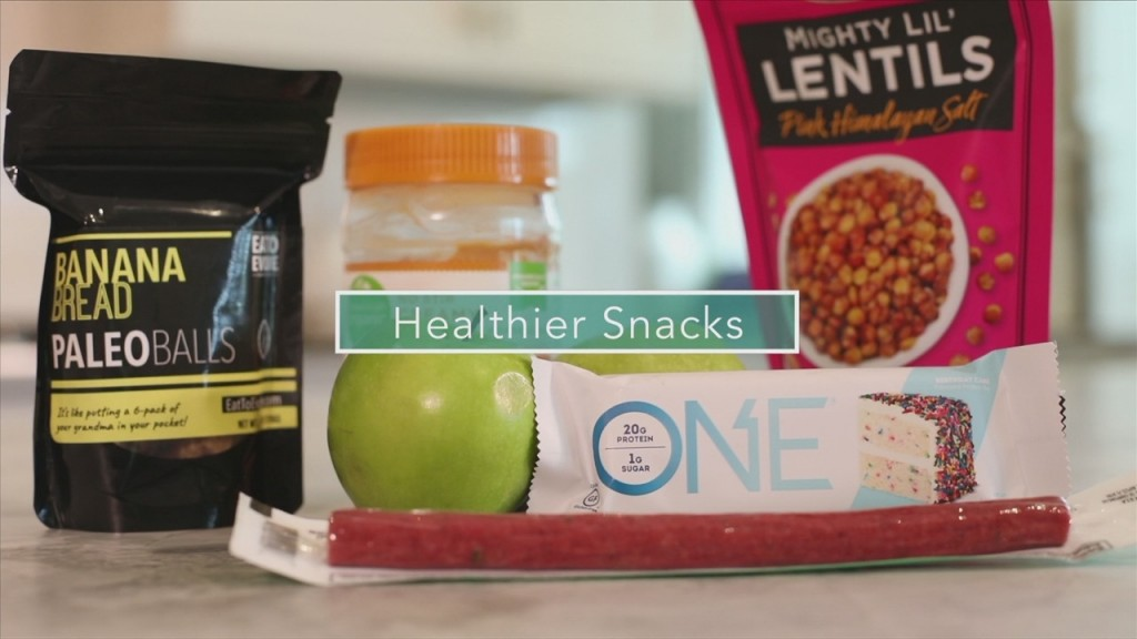 Mom To Mom: Healthier Snacks