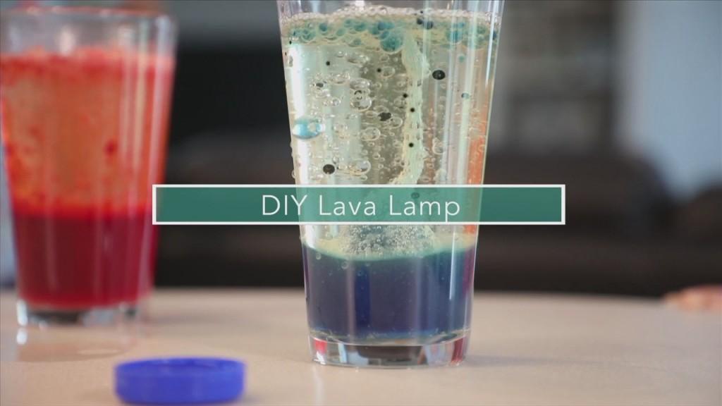 Mom To Mom: Diy Lava Lamp