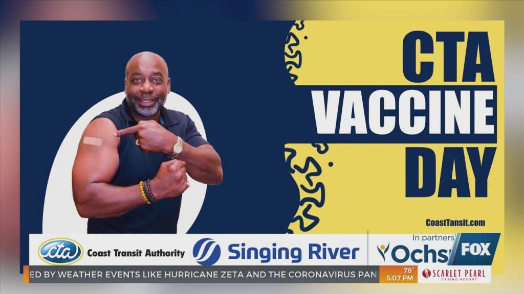 Coast Transit Authority Hosting Vaccine Event Saturday