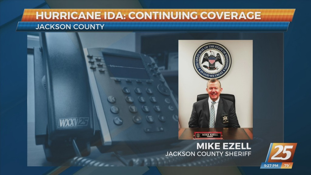 Jackson County Sheriff Mike Ezell Speaks To News 25