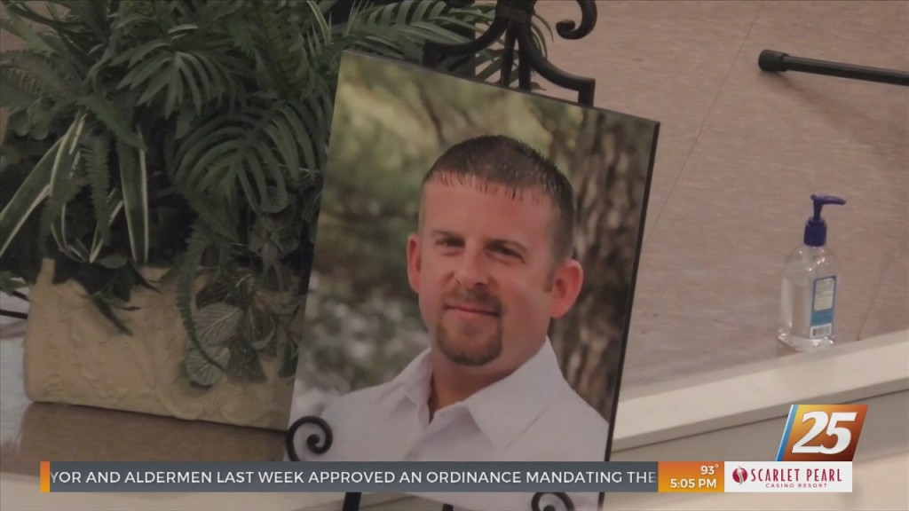 Funeral For George County Deputy Who Passed Away From Covid 19