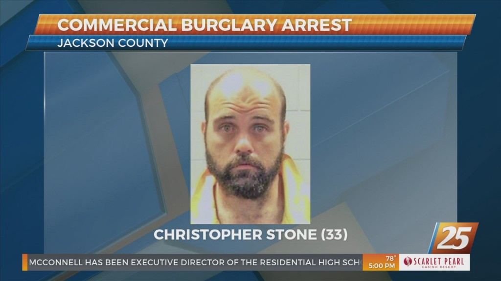 Commercial Burglary Arrest In Jackson County