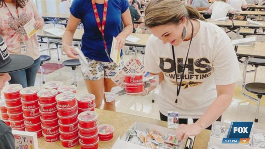 New Life Family Church Serving Breakfast To Harrison County Teachers