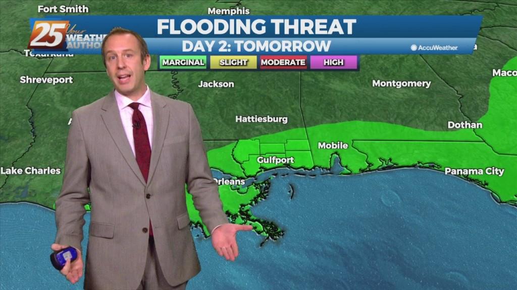 "08/24 Ryan's ""more Rain Ahead"" Tuesday Evening Forecast"