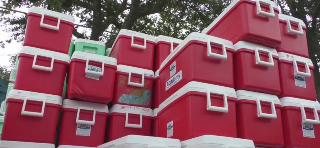Comeback Coolers Prepare To Help Hurricane Ida Victims