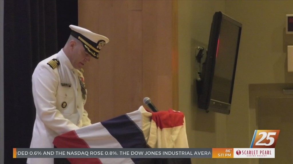 Naval Construction Group Two Change Of Command Ceremony