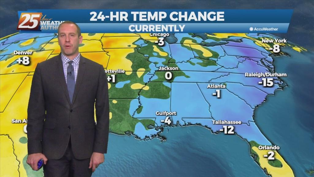 "09/23 Ryan's ""cool & Dry"" Thursday Night Forecast"