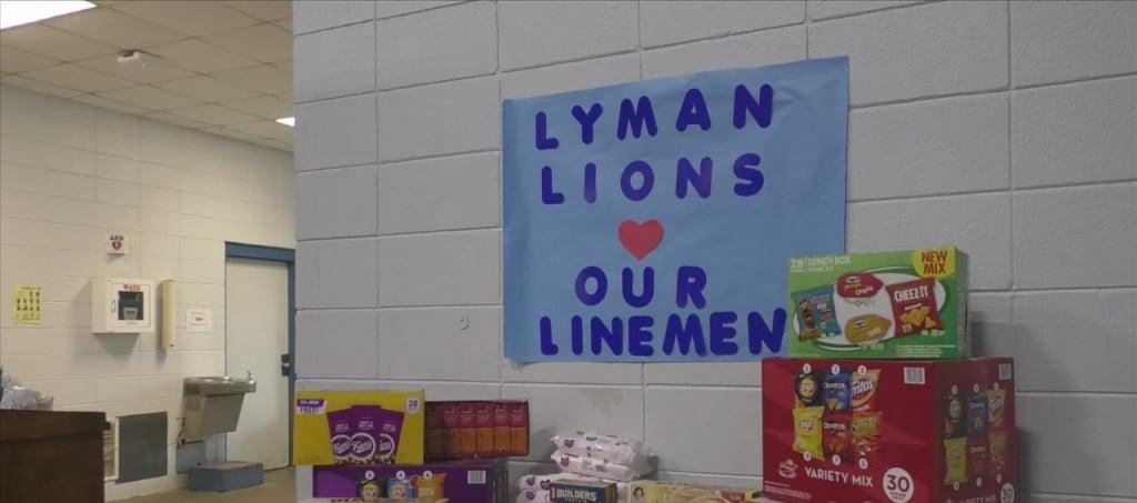 Lyman Elementary Students Donate To Help Lineman In Louisiana