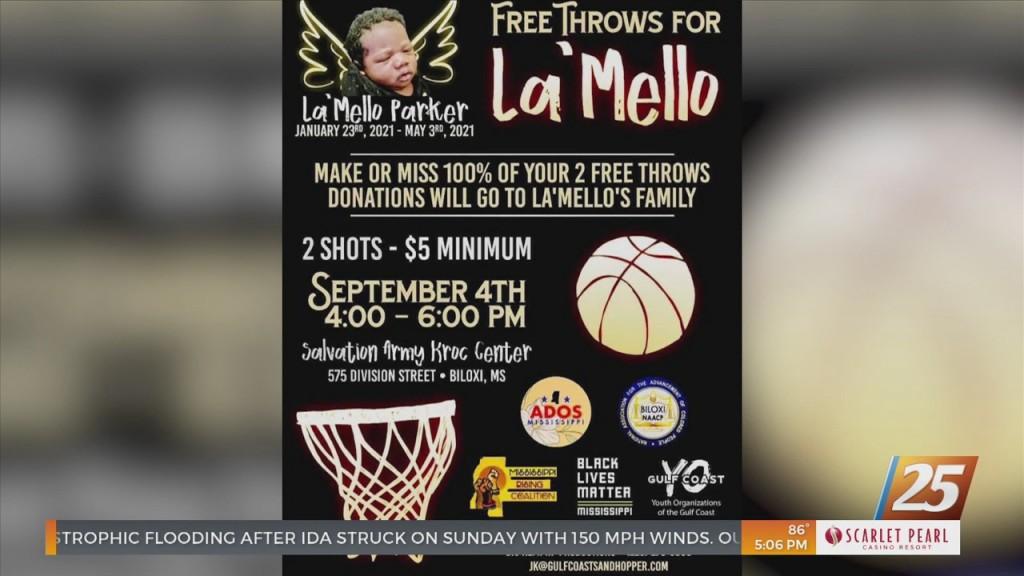 Fundraiser For Family Of La'mello Parker
