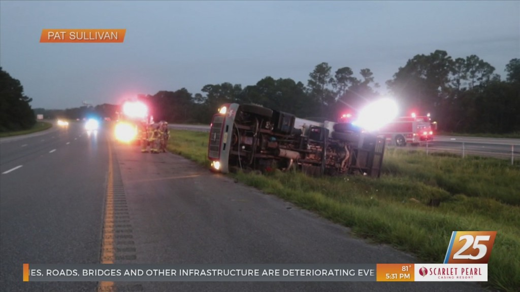 Overturned Fuel Truck Caused Delays On I 10