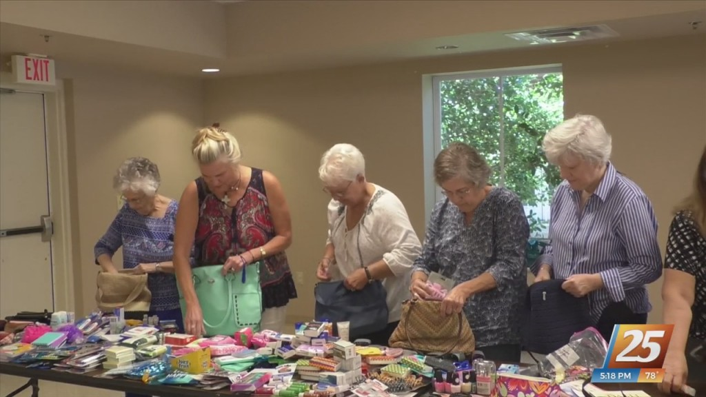 Packing Purses To Help Ladies In Louisiana