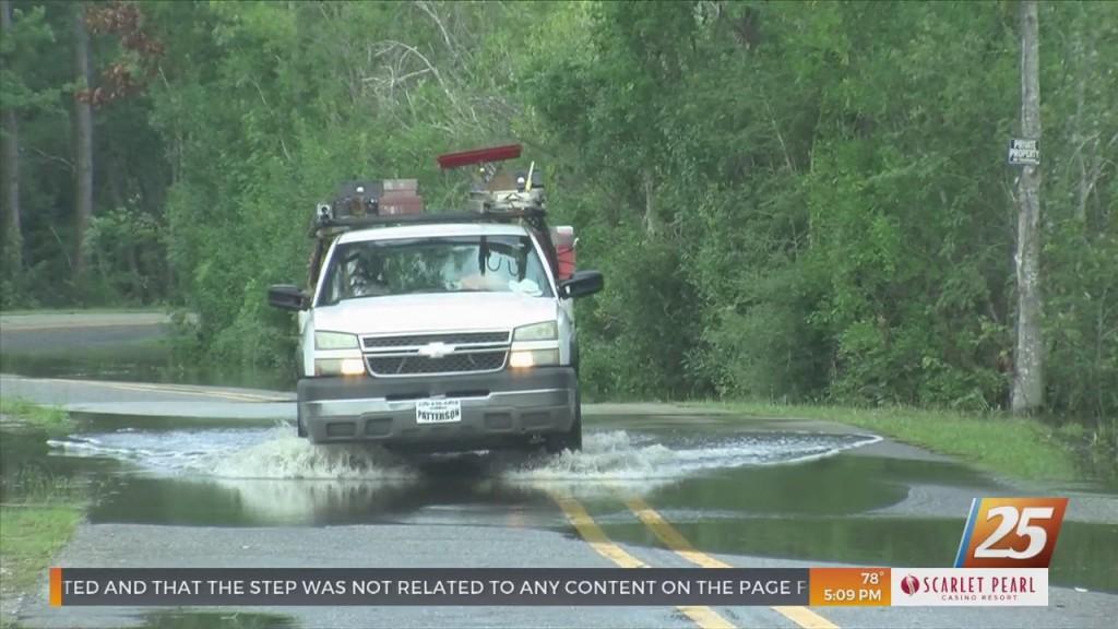 Flood Warnings In Effect For Harrison County