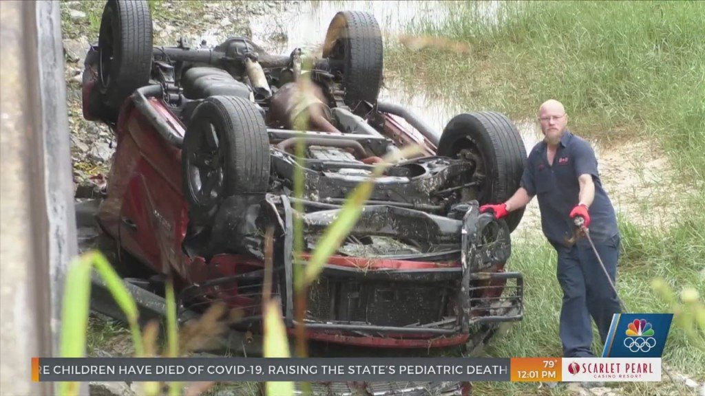 Wreck Leads To Discovery Of Flipped Truck Near Exit 28