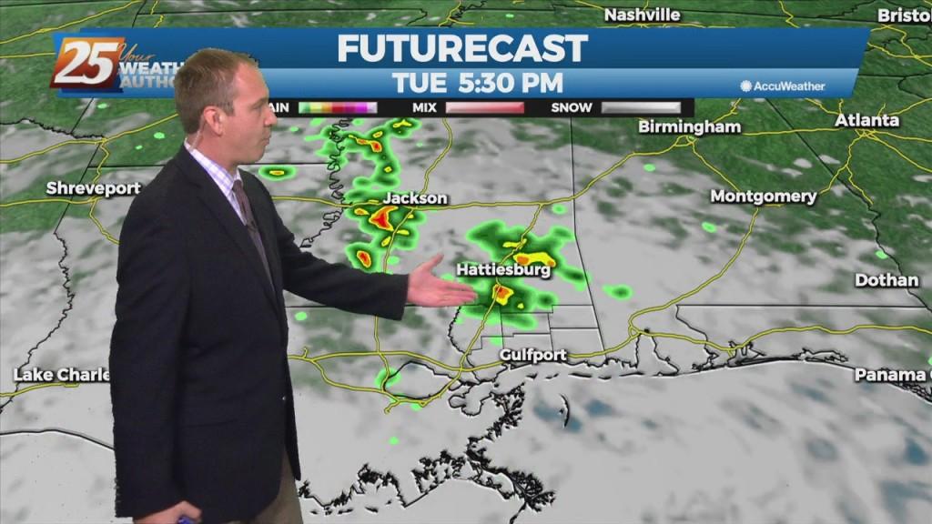 "09/27 Ryan's ""rain Soon"" Monday Evening Forecast"