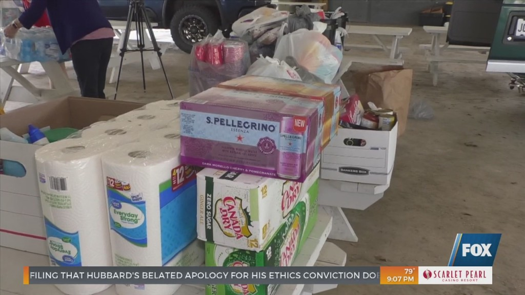 Long Beach Churches Collect Relief Items For Hurricane Ida Victims