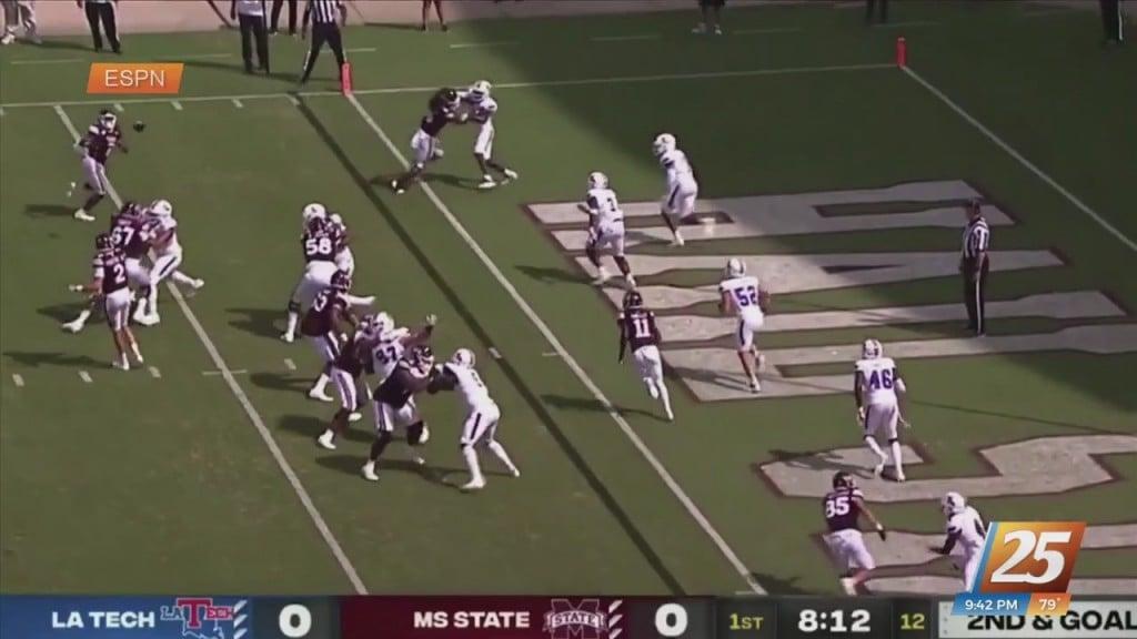 Ncaa Football: Mississippi State Vs. Louisiana Tech