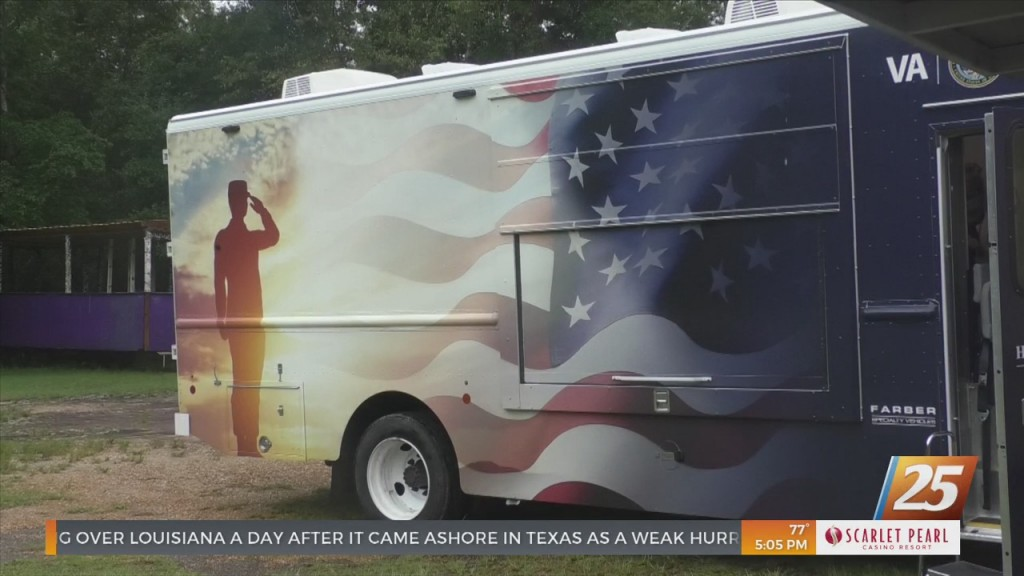 Mobile Medical Unit Helping Veterans On The Coast