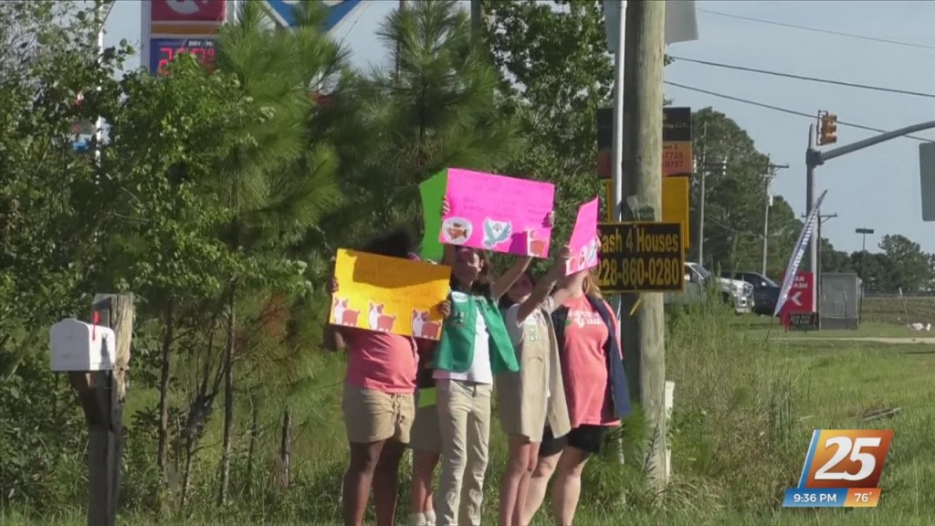Local Girl Scout Troop Hosts Animal Relief Drive