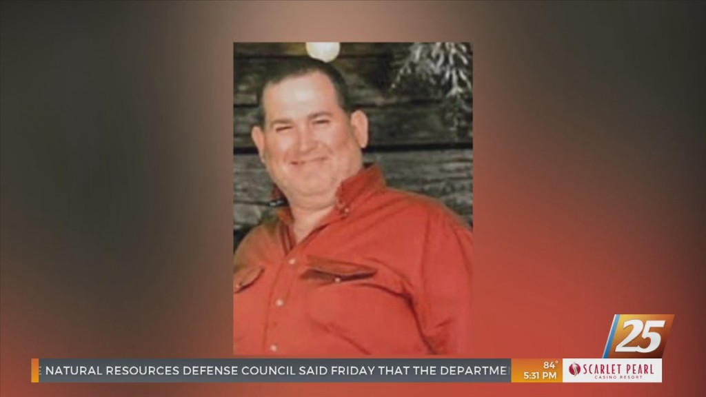 Family And Friends Gather To Mourn Wiggins Firefighter Clint Jacobs