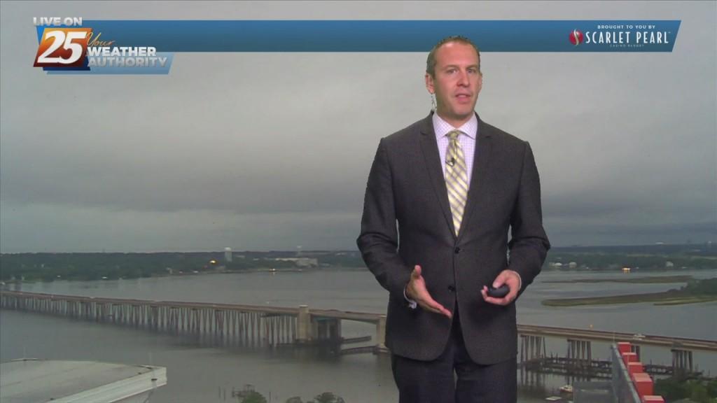 "09/28 Ryan's ""damp"" Tuesday Evening Forecast"