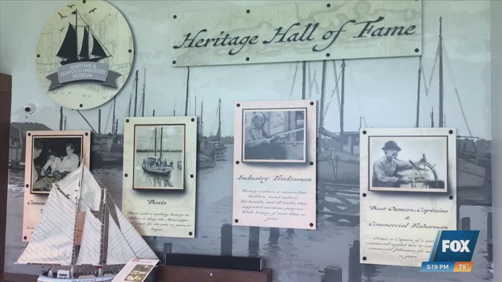 Maritime And Seafood Industry Museum Holding $10,000 Drawdown