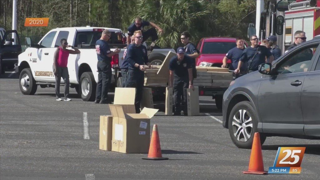 Local Fire Departments Helping Louisiana Residents