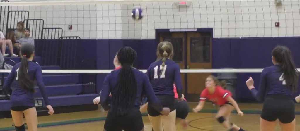 High School Volleyball: St. Patrick Vs. West Marion