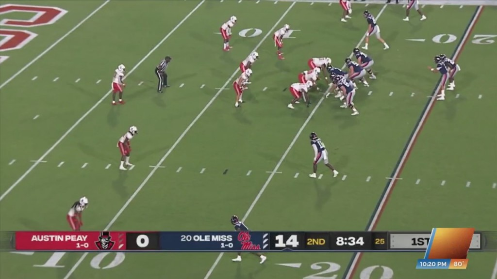 Ole Miss Ranks Third In Total Offense After Week Two
